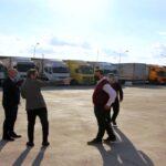Hamzabeyli Sınır Kapısı'nda ki Tır Parkı genişletiliyor